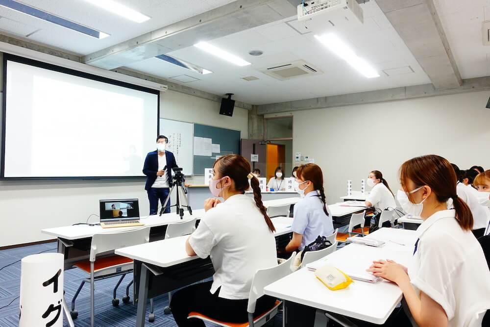 長崎女子短期大学の生徒の感想